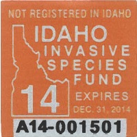Idaho Sticker